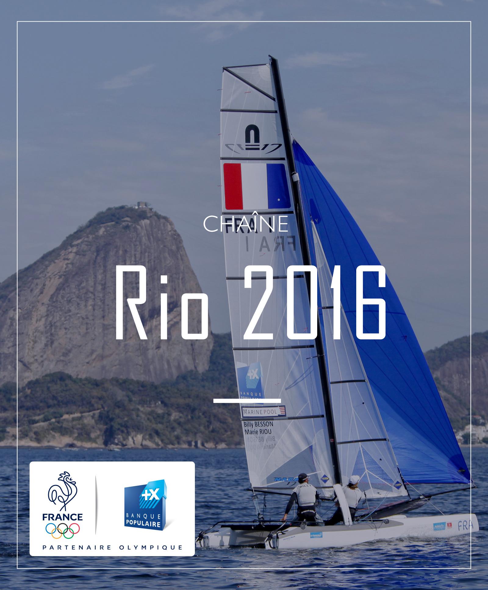 chaine RIO 2016