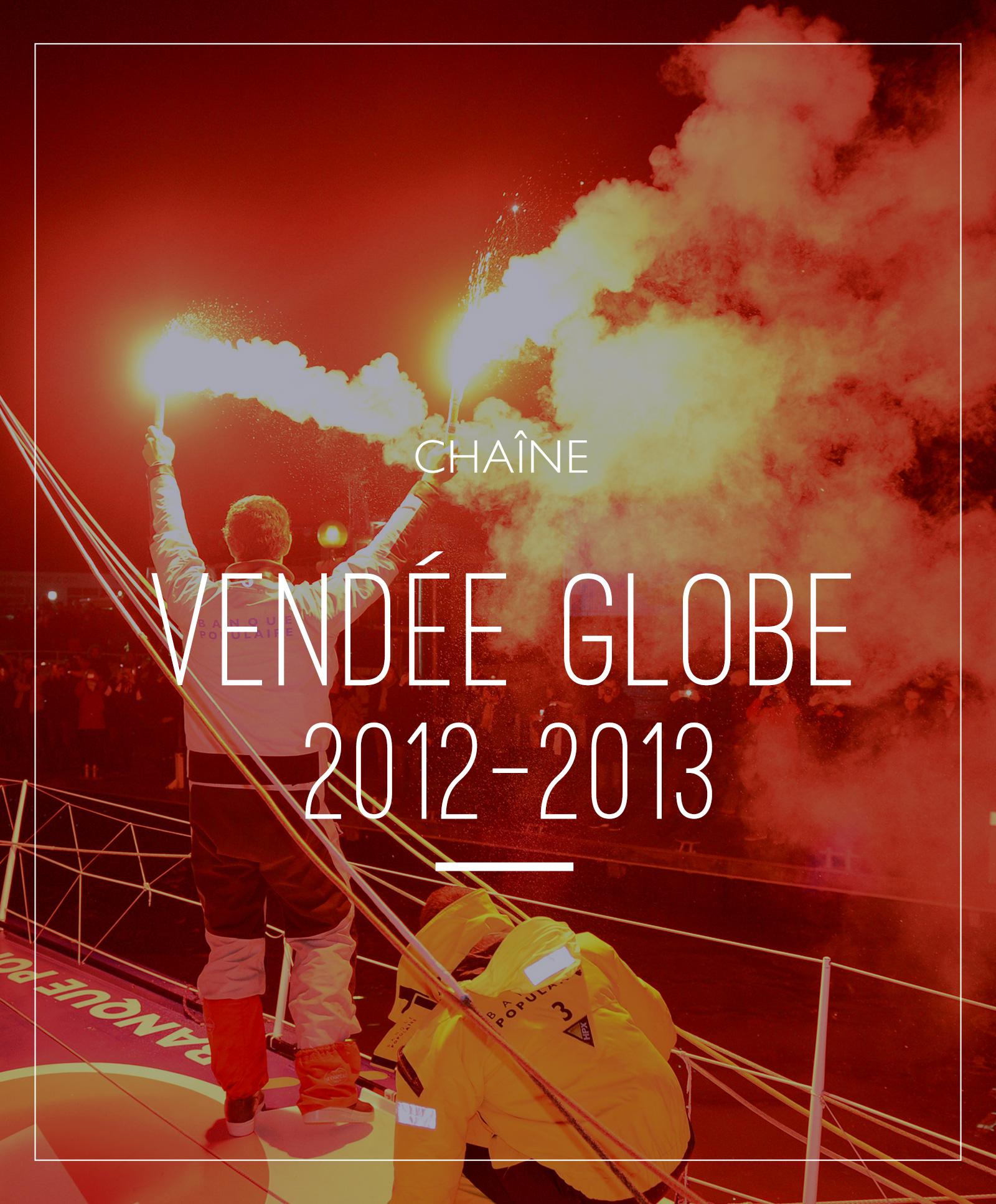 chaine Vendée Globe 2012-2013