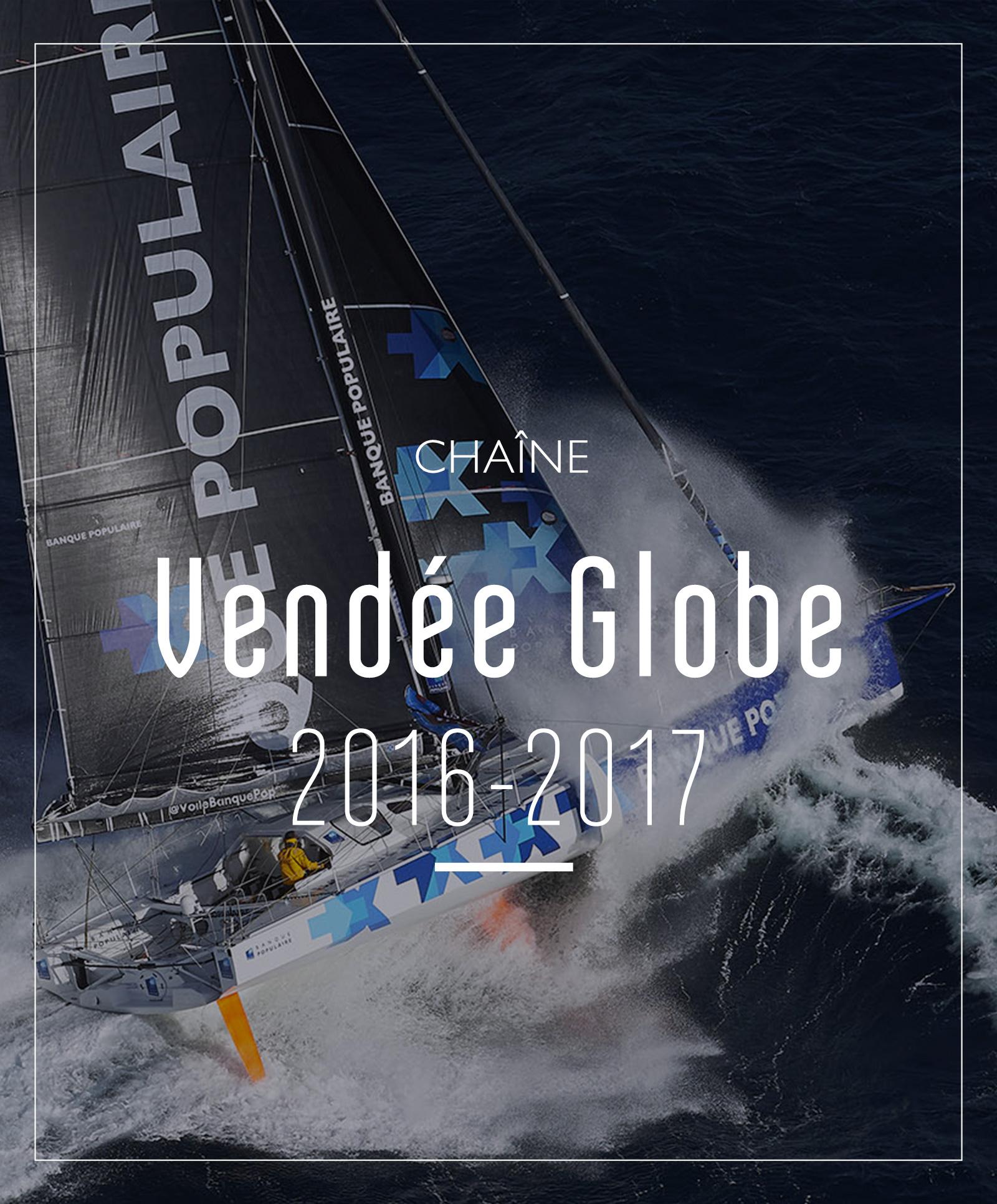 chaine Vendée Globe 2016-2017