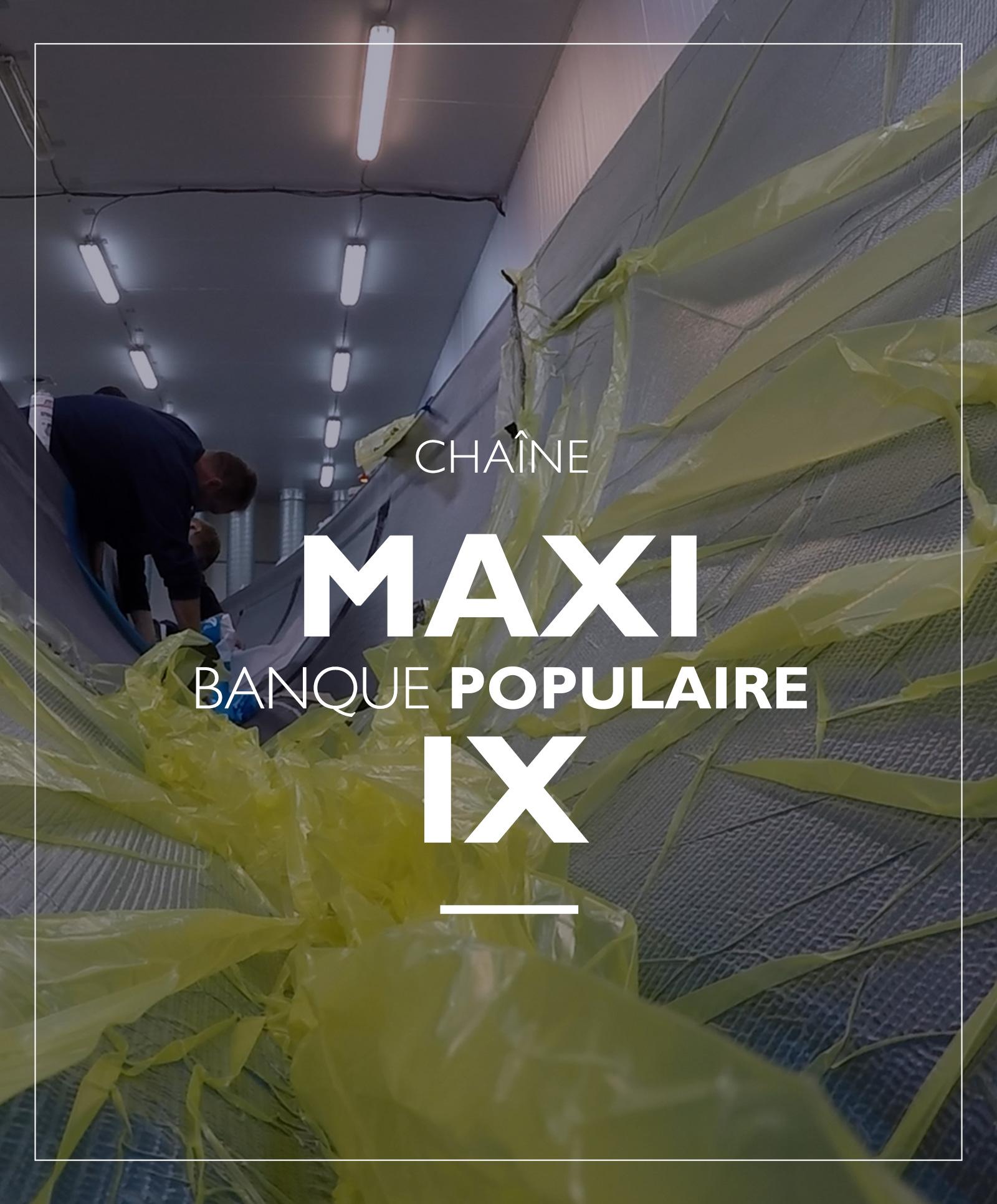 chaine MAXI SOLO BANQUE POPULAIRE IX