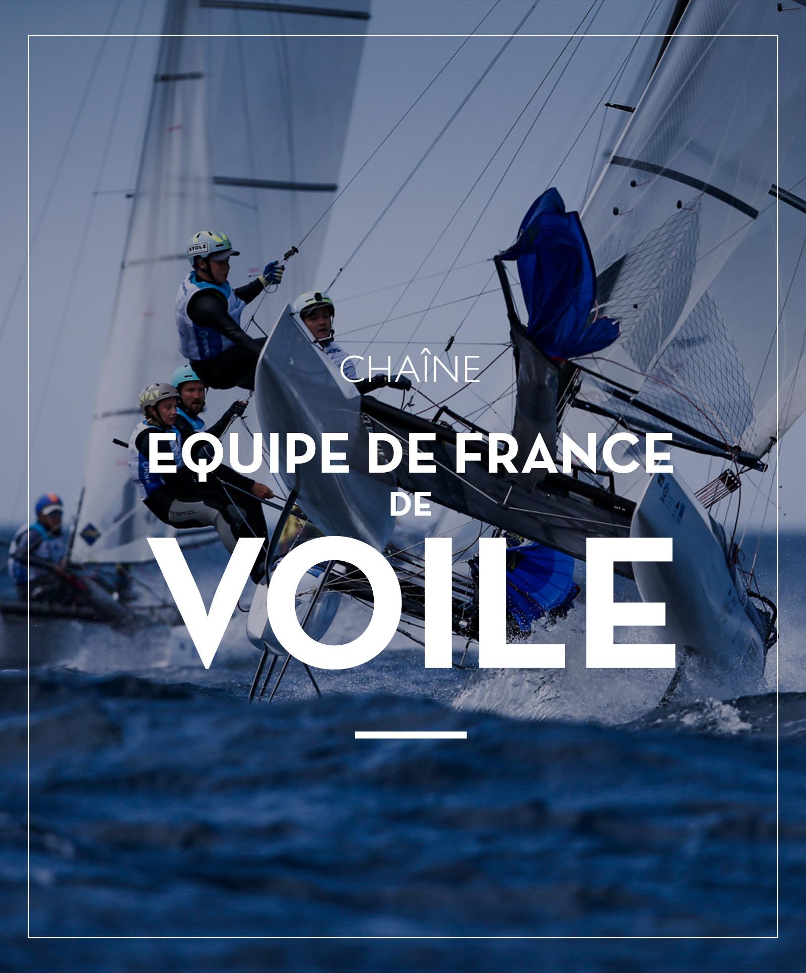 chaine EQUIPE DE FRANCE DE VOILE