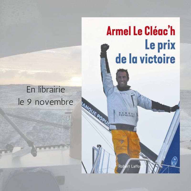 Armel le cl ac h sort son premier livre le prix de la victoire banque populaire la banque - Aurelie le cleac h ...