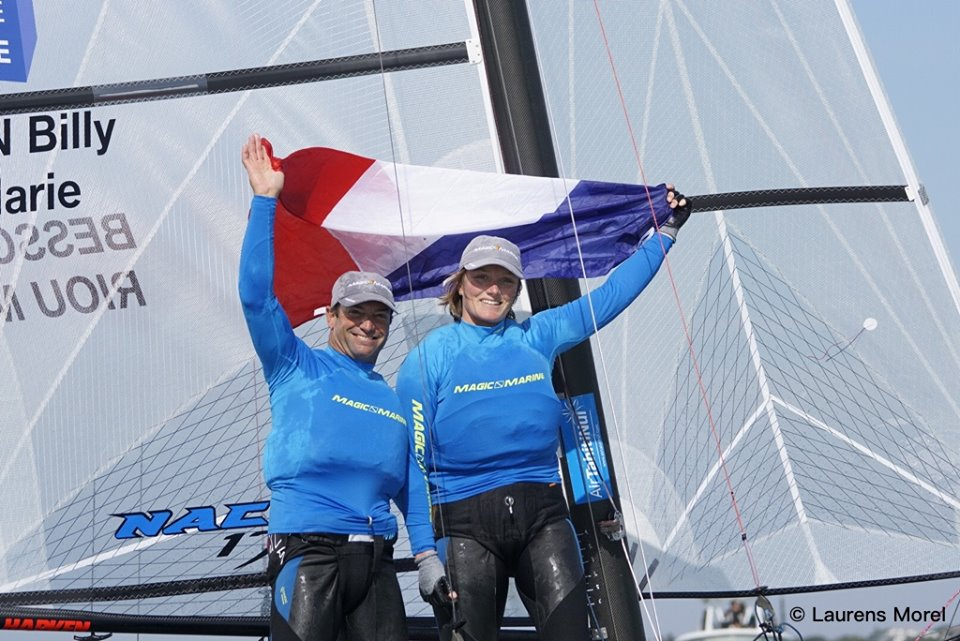 Billy Besson et Marie Riou - FFVoile